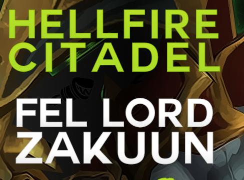 Hellfire Citadel PTR : YouTube Thumbnails