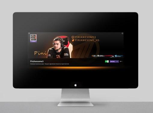 Twitch Profile Banner – Pini