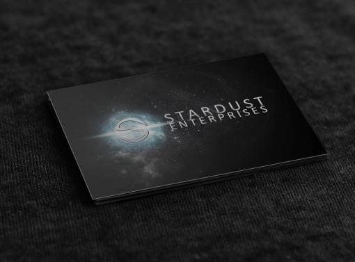 Business Card Design – Stardust Enterprises