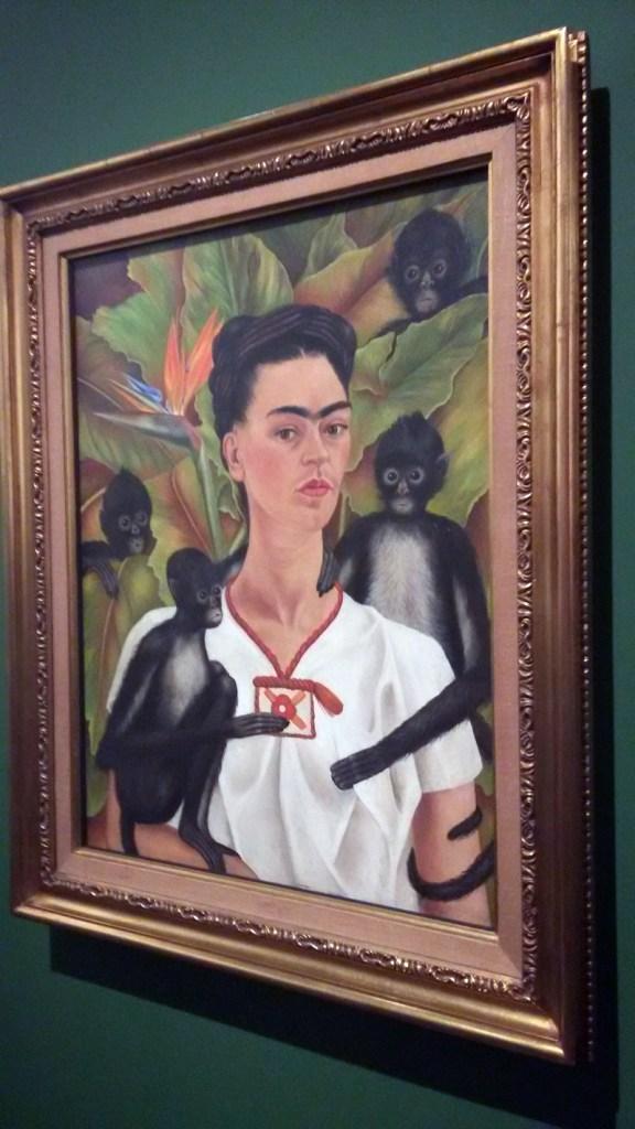 Frida Kahlo - Autorretrato com macacos, 1943