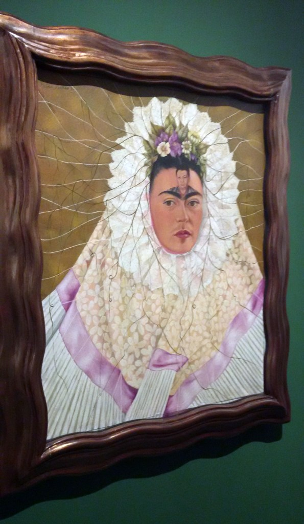 Frida Kahlo - Autorretrato como tehuana, ou Diego em meu pensamento, 1943