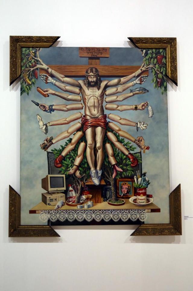 Fernando Baril - Cruzando Jesus Cristo com Deusa Schiva