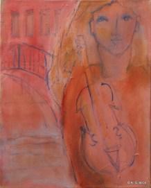 H13 (réservé) - Concert au Rialto (46 x 38 cm)
