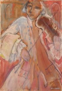 H31 - Mozart à Venise (64 x 44 cm)