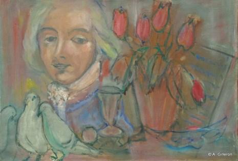 H37 - Composition Goldoni (38 x 55 cm)