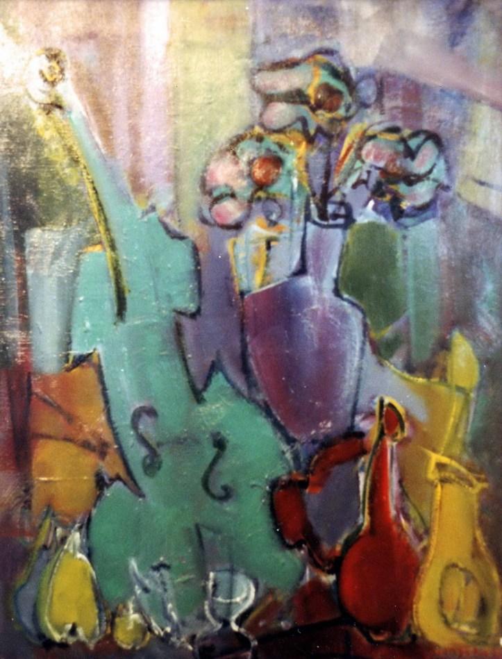 DA- Composition cubiste Collection particulière01