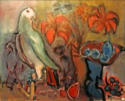 DA - Lys et perroquet Collection particulière02