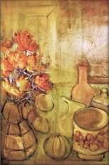 Vases et melon Collection particulière01