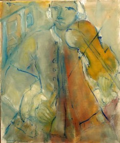H82 Mozart vert (60 x 50 cm)