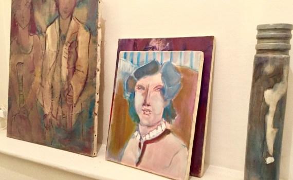 Dans l'atelier d'Arlette Gilleron Prod'homme