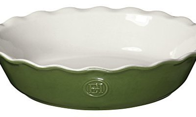 Emile Henry HR Modern Classics Pie Dish 9 Inch Green