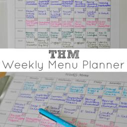 A Trim Healthy Mama Menu Plan {+ Free Printable Menu Planner Sheet!}