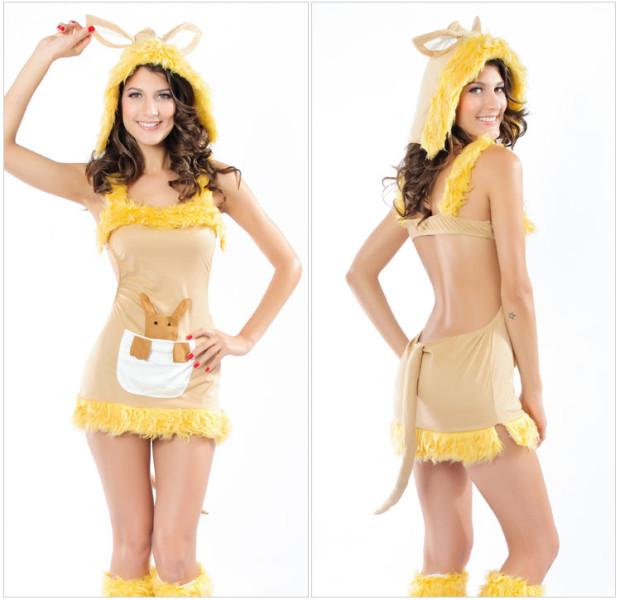 Hottest costume: Sexy kangaroo