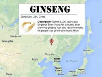 natural aphrodisiacs: ginseng