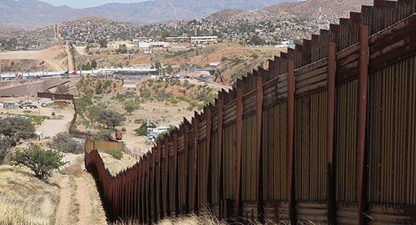 The boarder crisis: Proposed fence
