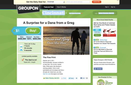 Groupon Proposal