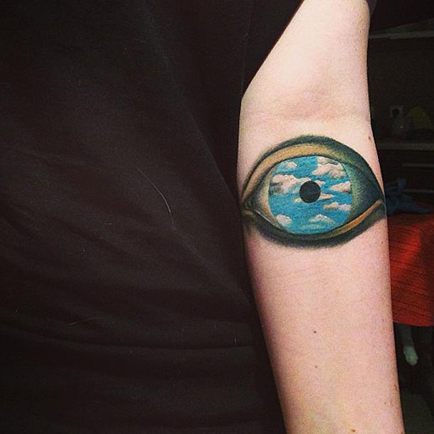 tattoo, The False Mirror