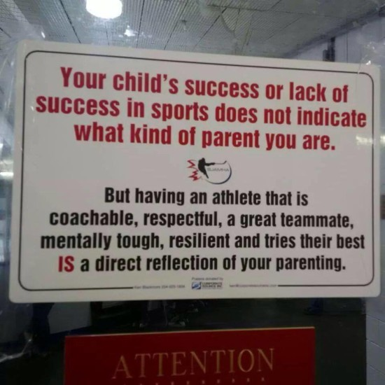 This sign speaks the truth about parenting