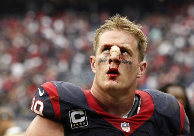 Texans star J.J. Watt