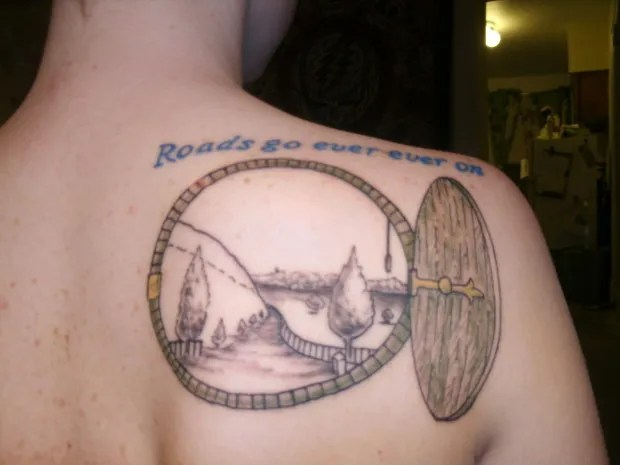 lord of the rings tattoo