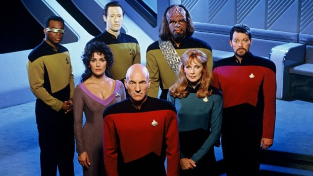 Star Trek The Next Generation cast