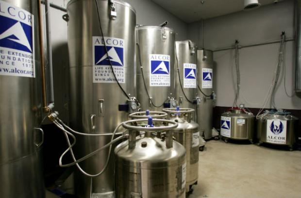 Cryonaut: Preservation tanks.