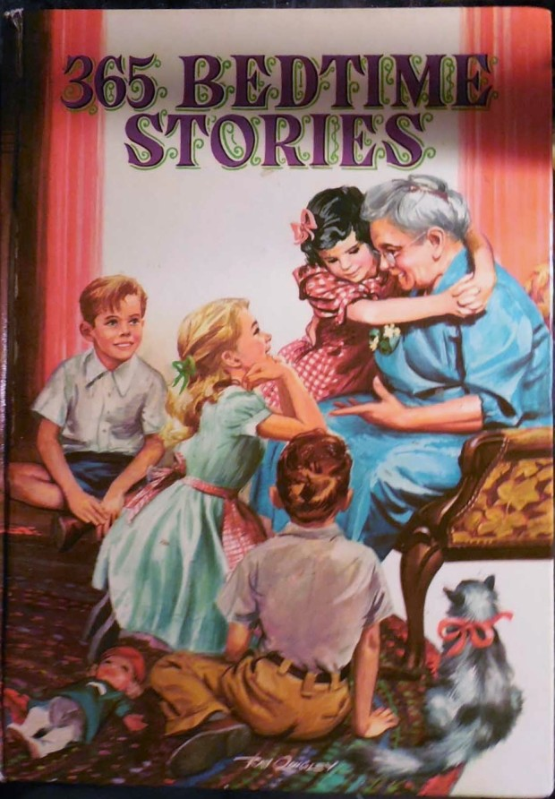used books: 365 Bedtime Stories by Nan Gilbert