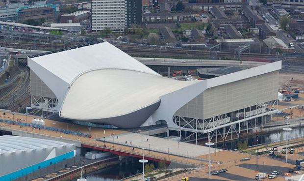 Zaha Hadid: London Aquatics Center