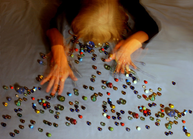 Sleep: person trying to grab their marbles