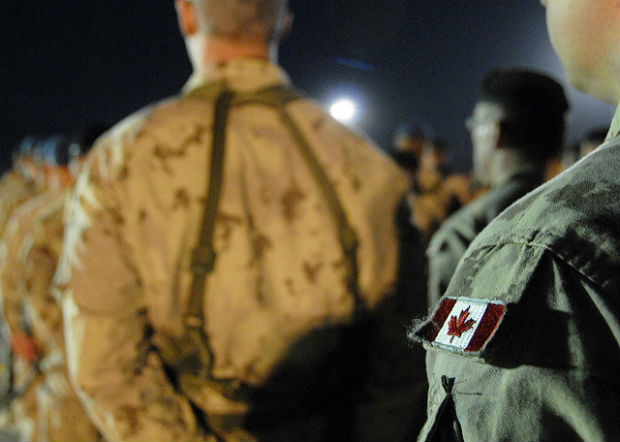 Missing legs: Canadian armed forces in Kandahar