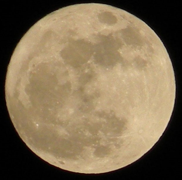 Photo of supermoon