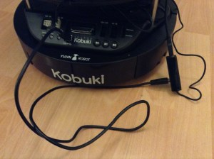 Extra USB cable required between Kobuki and USB hub,