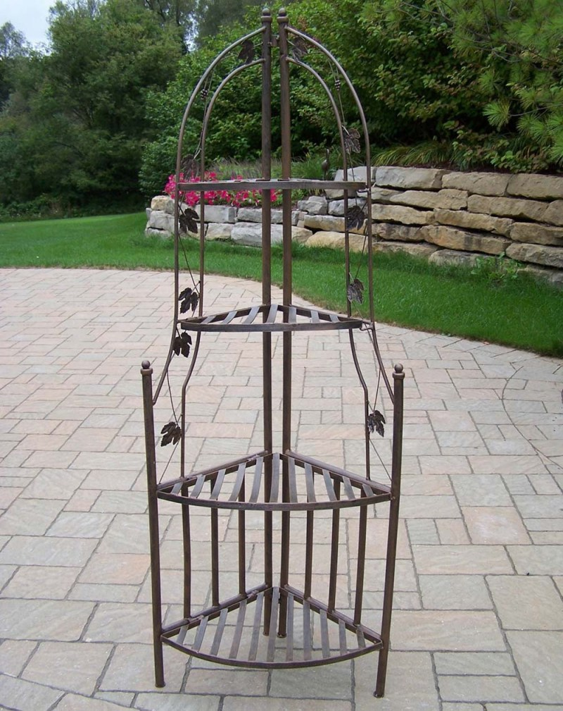 Large Of Wrought Iron Plant Stands