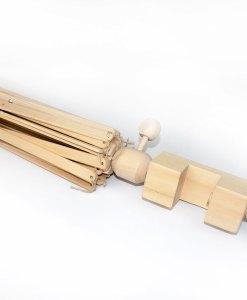Parapluie en bois (dévidoir - écheveaudoir)