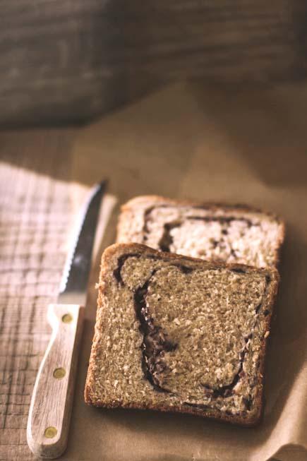 Olive tapenade bread