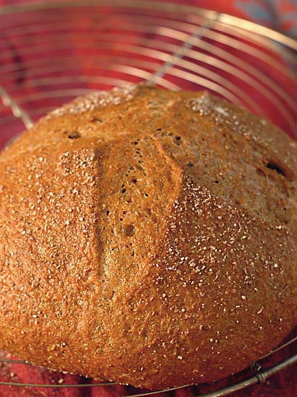 whole grain homemade bread