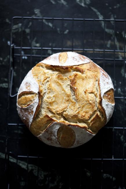 Old dough boule | Breadin5 06