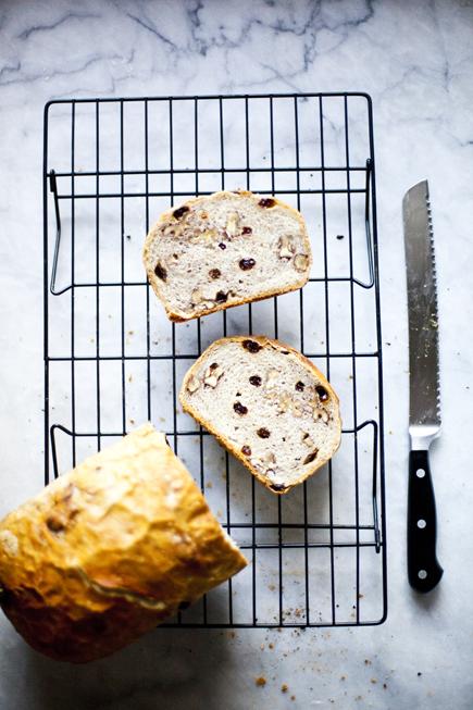 Raisin Walnut Bread | Breadin5 17