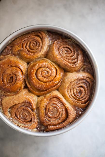 caramel rolls bread pudding | Breadin5 (4 of 11)