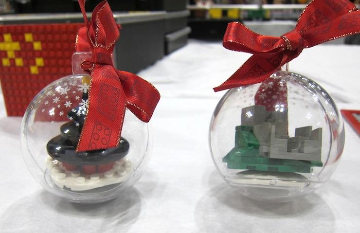 Christmas ornament Legos