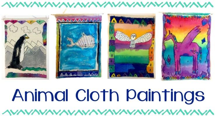 Animal Cloth Painting
