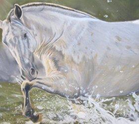cheval-pastel