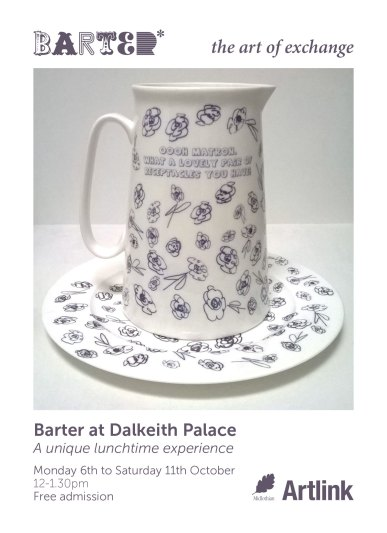 Barter Dalkeith Palace exhibition poster