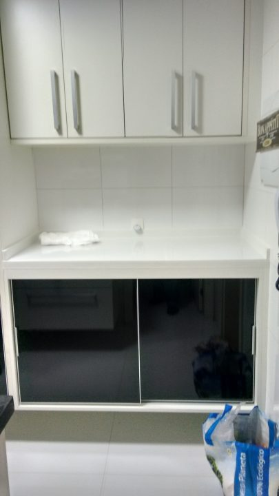 lavanderia completa para pequenos espaços