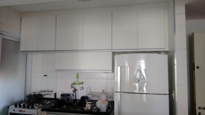 cozinha completa para pequenos espaços