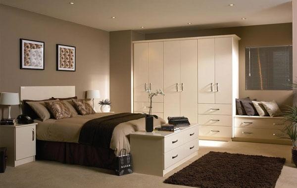 dormitório completo de casal