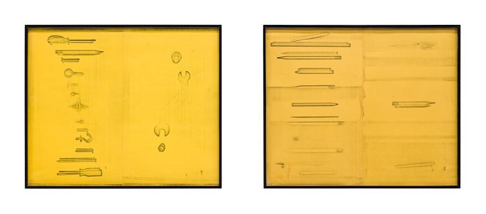 Barbara T. Smith, Clocks, 1965-1966, Xerox print. COURTESY THE ARTIST AND THE BOX, LOS ANGELES.