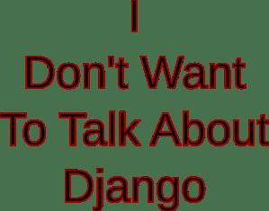 DjangNo