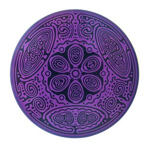 Divine Essence Element Disk - Air - purple