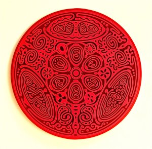 Divine Essence Element Disk - Earth - red
